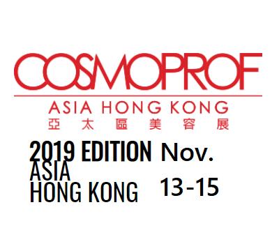 Exhibit, COSMOPROF Asia 2019 Sep. 25-26